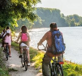 Randonnées et balades à vélo
