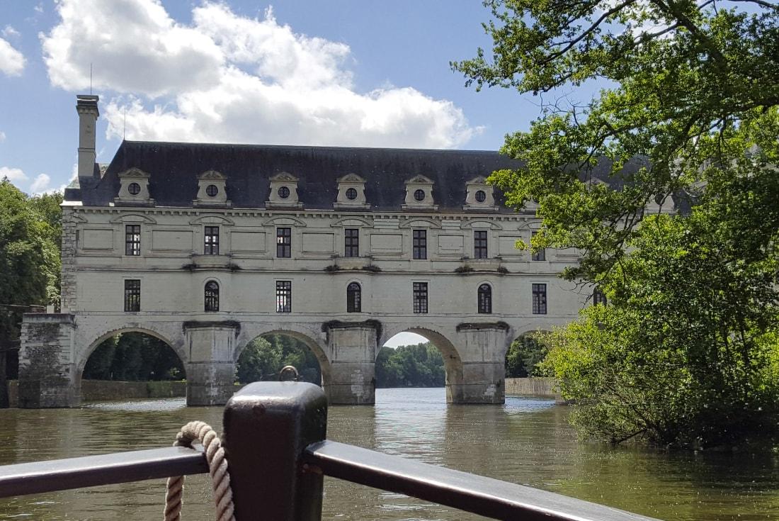 Gabare Chateau de Chenonceau