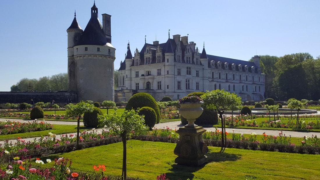 Jardin et Chateau Chenonceau