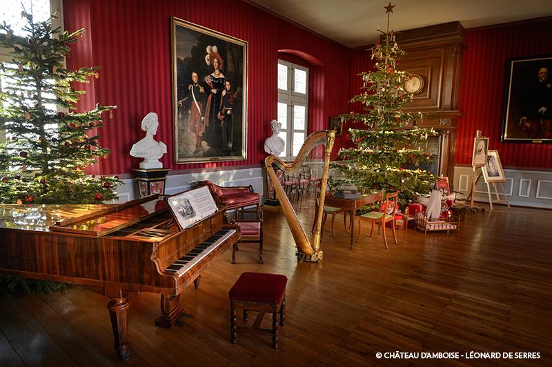 Château d'Amboise, Noël