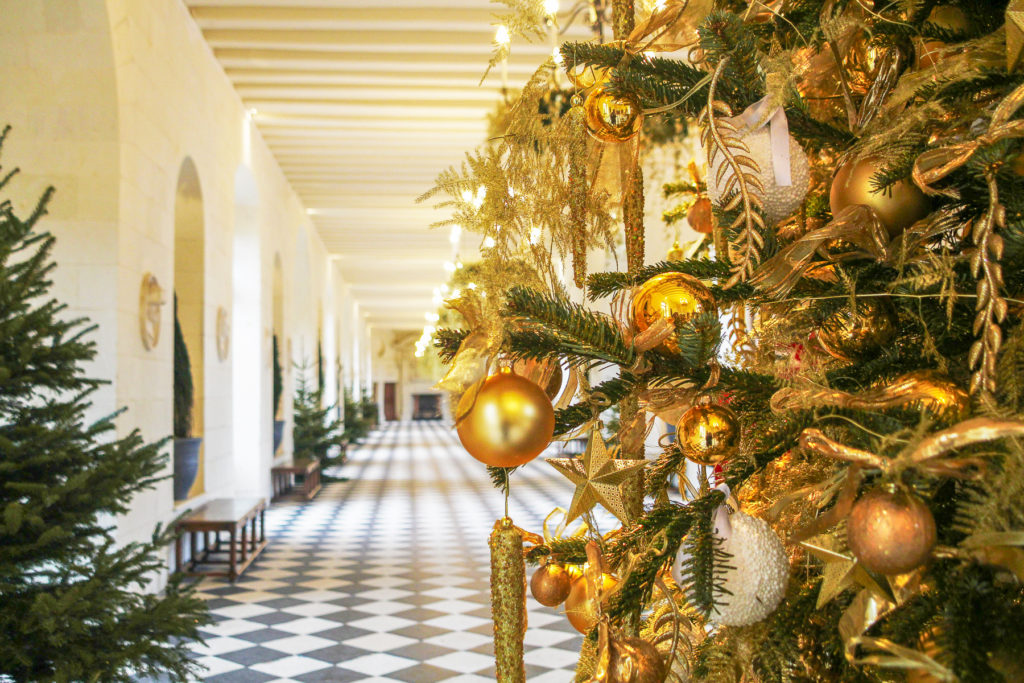 Noël, Chenonceau, Château