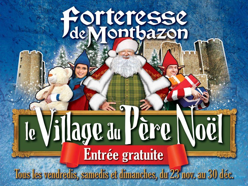 forteresse de montbazon, village du père noël, touraine