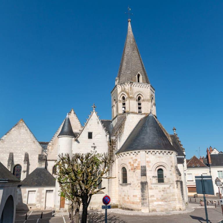 Bléré ville eglise