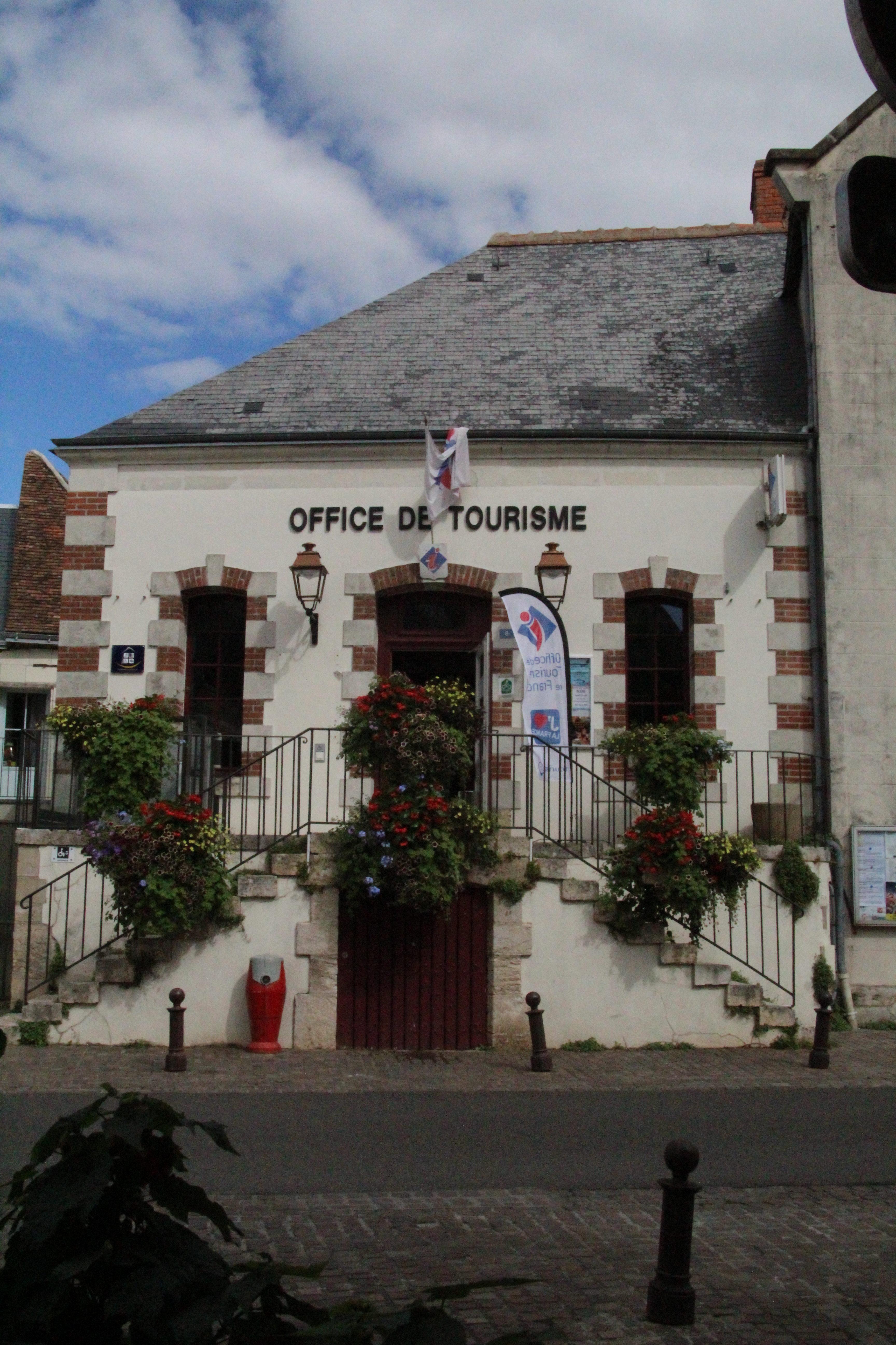 Bléré ville office de tourisme bureau accueil touristique information