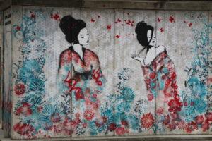Bléré ville street art de la rue